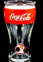 Coca Cola Glas / Gläser WM 2014 Brasilien Sammelglas, Nr.8 Spanien 0,2l