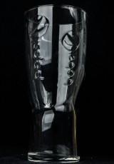 Pepsi Cola Glas / Gläser, Longdrinkglas, Relief Schwingform 0,3l