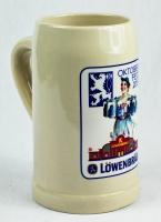 Löwenbräu Bier Brauerei, OKTOBERFEST 2013 Seidel, Bierkrug 0,5 Liter Humpen