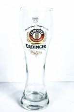 Erdinger Bier Glas / Gläser, Bierglas, Weissbier, Weizenbierglas 0,3 l