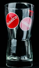 Sinalco Limonade Glas / Gläser, Amsterdam 0,2l Relief Glas