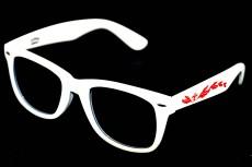 Southern Comfort Sonnenbrille, weiß, UV 400 Logo