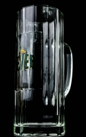 Jever Bier Glas / Gläser, Bierkrug, Krug, Wallenstein Jever, Seidel 0,5l