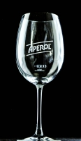 Aperol Spritz, Stielglas, Ballonglas Schriftzug Aperol