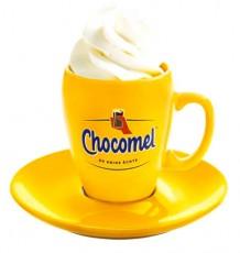 Chocomel Kakao, Kakao Becher, Tasse, orange, Kakaobecher Tasse