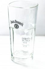 Jack Daniels Whiskey No 7 Whiskeyglas, Longdrink Glas, Gläser, Facettenschliff.