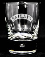 Baileys Irish Cream Whiskey Tumbler, Glas mit Perle, Halbmond schriffiert