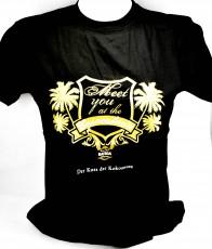 Batida de Coco, Damen Shirt Copacabana, schwarz, Gr. M