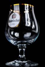 Krombacher Bier, Schwenker, Glas, Gläser, Bierglas, Biergläser Brüssel Goldrand, 0,3l