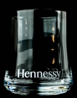 Hennessy Cognac Tumblerglas, Glas m. geriffelten Boden...sehr edel