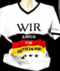 Warsteiner Bier, EM, WM, Deutschland Fan-Shirt Jubeln für Deutschland L / XL