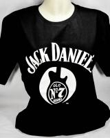 Jack Daniels Whiskey, T-Shirt Guitar No.7 Gr.L, full Logo