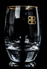 Baileys Glas / Gläser, Tumbler Irish Cream Whiskey Gold rund Sonderedition