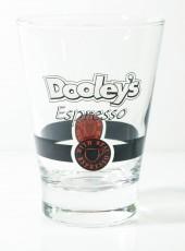 Dooleys Glas, Likör, Espressoglas, Coffeeglas, Kaffeeglas, Kaffee und Cremelikör