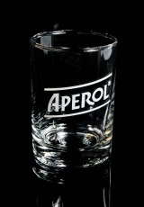 Aperol Spritz, Windlicht, Glas Windlicht, Kerzenhalter, Terrassen Windlicht