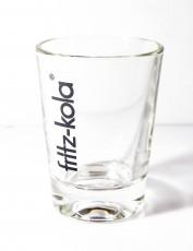 Fritz Kola, Trinkglas, Espresso Glas, Kola Glas, Colaglas 0,1l