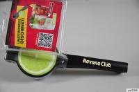 Havana Club Rum, Metall Limettenpresse, Zitronenpresse, schwarze Ausführung