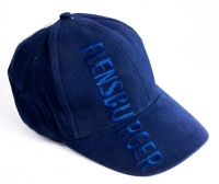 Flensburger Pilsener Baseballmütze, Mütze, Cap-Mütze Hut ab blau