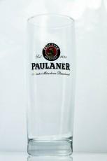 Paulaner Weissbier, Bierglas, Glas / Gläser, Frankonia 0,5l Gebraut mit..