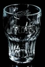 Pitu Cachaca Relief Cocktailglas, Longdrinkglas, Rumglas, schwere Ausführung