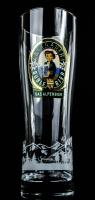 Allgäuer Brauhaus, Büble Bier, Bierglas, Sammlerglas Allgäuer Aussichten