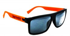 Jägermeister Brille, Sonnenbrille, Nerd UV 400 Kat.3, orange Ausführung