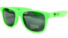 Bacardi Razz, Sonnenbrille UV 400 Kat.3, Partybrille, Malle, grüne Ausführung