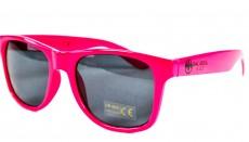 Bacardi Razz, Sonnenbrille UV 400 Kat.3, Partybrille, Malle, pinke Ausführung