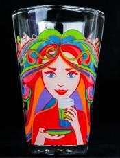 Jacobs Kaffee, Tassimo Latte Macchiato Glas, Edition 2015, Doppelwandig, Thermo