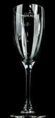 Pommery Champagner Glas, Flöte, Pommery kurz weißes Branding 10cl