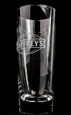 Caffreys Irish Beer, Bierglas, Biergläser, Pintglas 0,3l, Genuine Draught