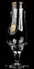 Warsteiner Bier, Biergläser, Pokalglas, Bierglas 0,3l, bauchige Ausführung
