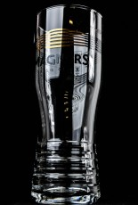 Magners Cider, Geriffelt Irish Cider Pint Glas Win Magners neues Logo 0,5l