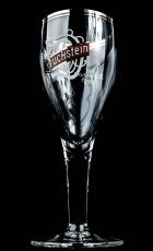 Duckstein Pokal, Glas / Gläser, Harzer aus Buchenholz 0,3l