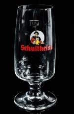 Schultheiss Lager, Bier, Bierglas, Tulpenglas Colani Design 0,3l, sehr alt