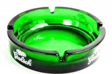 Grolsch Bier, Glas Aschenbecher große grüne Ausführung