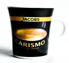 Jacobs Kaffeebecher, Kaffetasse, Becher Carismo Caffe Crema