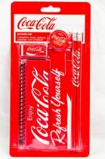 Coca Cola, Schreibset 6 teilig, Schulanfang, Schulanfänger Refresh yourself