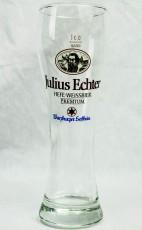 Julius Echter, Würzburger Hofbräu Weissbierglas, Bierglas 0,3l