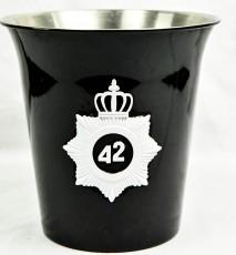 42 Below Vodka, Flaschenkühler Australian Federal Police Logo, schwarze Ausführung