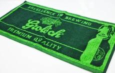 Grolsch Bier Brauerei, Barhandtuch, Bartowel, grün