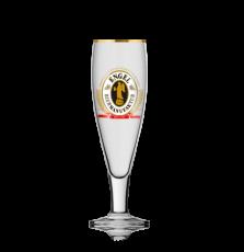 Engel Bier, Pokalglas Bierglas, Biergläser, Glas / Gläser, Goldrand, 0,3 l