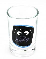 Kleiner Feigling, Shotglas, Stamper, Kurzer Sonderedition Blau