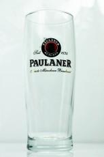 Paulaner Weissbier, Bierglas, Glas / Gläser, Frankonia 0,3l Feinste..
