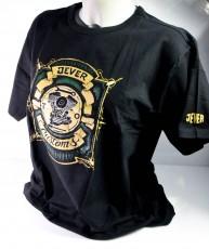 Jever Bier Biker T-Shirt Motiv 2 Motor schwarz in XL m. Logo