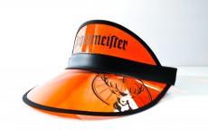 Jägermeister Likör, Schirmmütze, Sommer Cap orange, Sonnenschutz