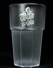 Captain Morgan, Acryl Kunststoffbecher, Fetival Becher, Partybecher Glas, Gläser