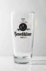 Benediktiner Weissbier, Bierglas, Willibecher 0,3l