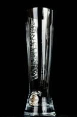 Warsteiner Bier, Premium Cup, Relief Schriftzug, Bierglas, Biergläser 0,4l