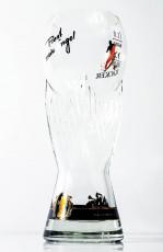 Engel Bier, Editions Bierglas im Relief Fußballglas Deutschland Winner Trophy 0,3l